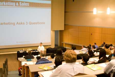 John Fox presentation b2b marketing small business owners and Sales Executives